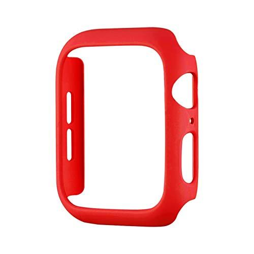 SGGFA Fashion Color PC Funda Dura para el Reloj de Apple SE Serie Cubierta de la Cubierta 6 5 4 3 Matte Bumper 40mm 44mm 38mm 42mm para cáscara Protectora de iWatch