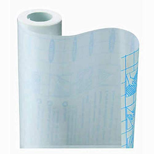 Classic Touch Zip Tac Self-Adhesive Shelf Liner - 9ft x17.75in (Crystal Clear)