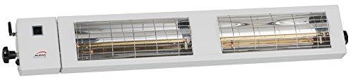 Burda Infrarot Heizstrahler SMART Multi BT IP24 2x1,5kW weiß