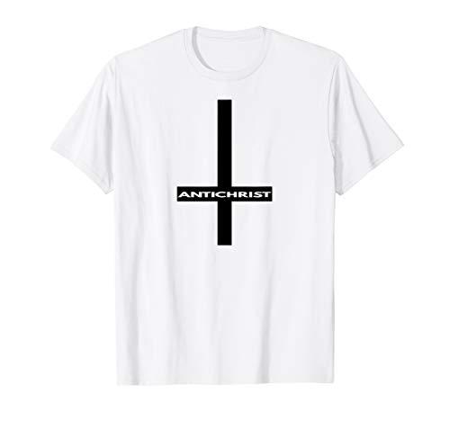 Antichrist Umgedrehtes Kreuz T Shirt