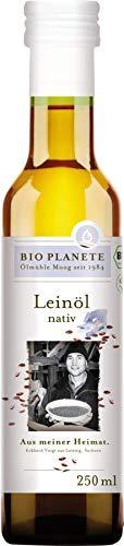Bio Planète Leinöl nativ heimische Ernte, 2er Pack (2 x 250 ml)