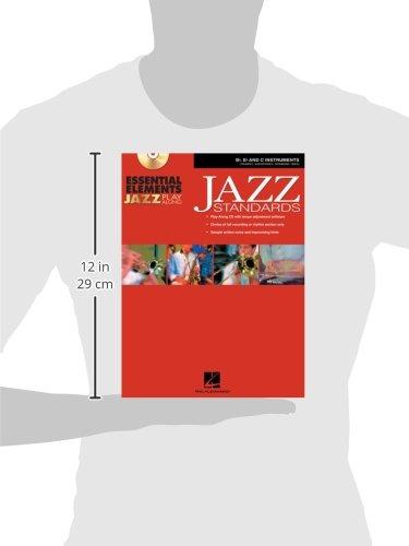 Essential  Elements Jazz Play-Along: Jazz Standards B Flat, E Flat and C Instruments Bk/CD-ROM