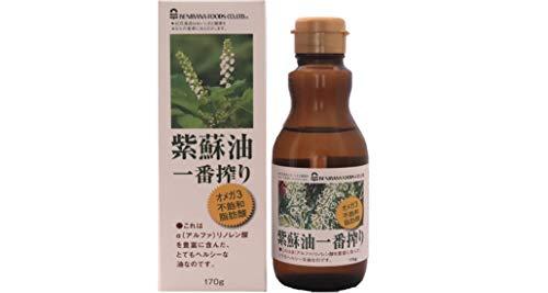 紅花食品 紫蘇油 一番搾り 箱180g
