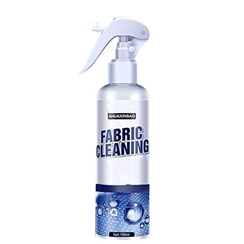 Taloit Agente de limpieza interior de la tela del coche, Limpiador de cuero para sofás, Limpiador de cuero del coche, Herramienta de limpieza multiusos de 100 ml