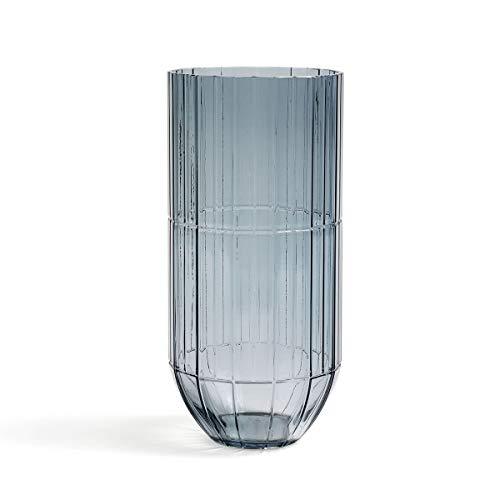 HAY - Colour Vaas Glazen vaas, XL, blauw