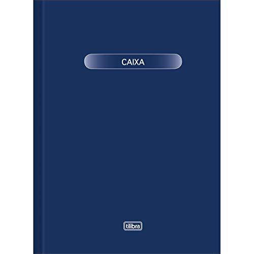 Livro Caixa Grande 50 Folhas, Tilibra, Multicor