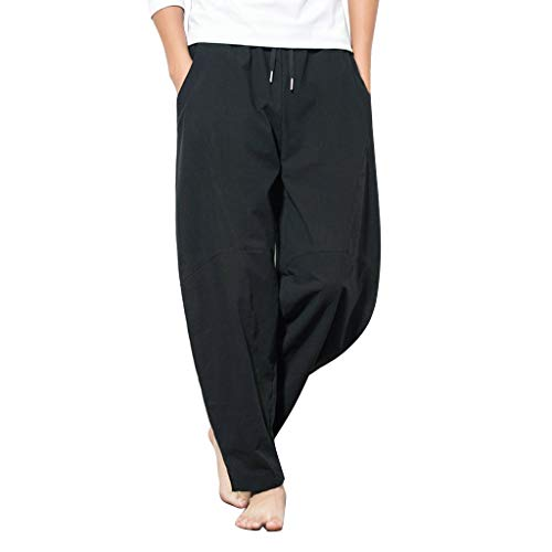 Cocoty-store Pantalones 2019 Pantalones de Gimnasio para Hombre, Ajustados, Pantalones de Fitness, Pantalones de chándal con Cremallera, Pantalones de chándal