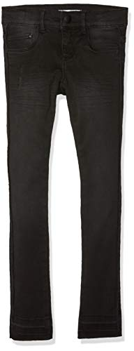 NAME IT NAME IT Mädchen NKFPOLLY DNMTAFFY 7076 Pant NOOS Jeans, Schwarz (Black Denim Black Denim), 164