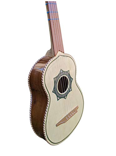 Rosewood Vihuela Hand Made Paracho Mexico- Palo Escrito Viuela Guitarras Azteca (Rosewood)