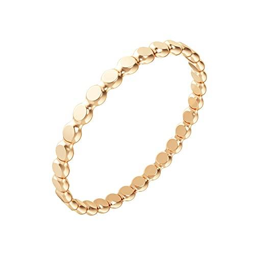 Nova Stacking Ring – Handmade Rings for Women—Stackable Rings – 14K Gold Filled Rings for Women, Size 7