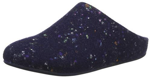 Fitflop Damen Chrissie Speckle Pantoffeln, Blau (Midnight Navy 399), 39 EU