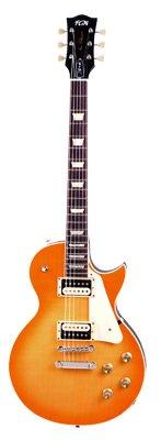 FGN FGLS10LDP Neo Classic LS 10 Plain Top Gitarre zitronendrop
