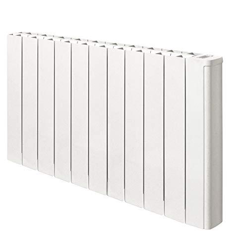 Radiador eléctrico con control WiFi Telica WiFi Plus 1800 W – Termostato programable con App – Ideal para habitaciones de hasta 21 m², aluminio, blanco