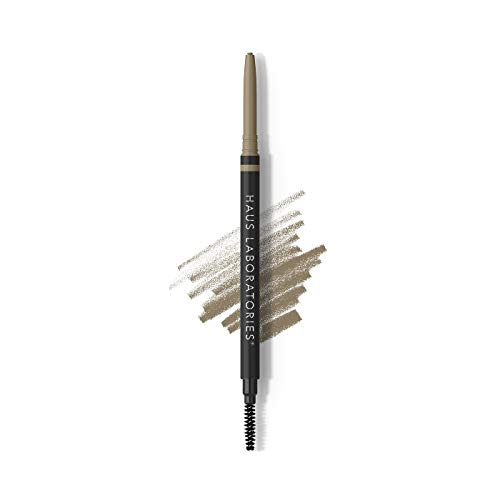 HAUS LABORATORIES by Lady Gaga: THE EDGE MICRO-TIP PRECISION BROW PENCIL, Taupe