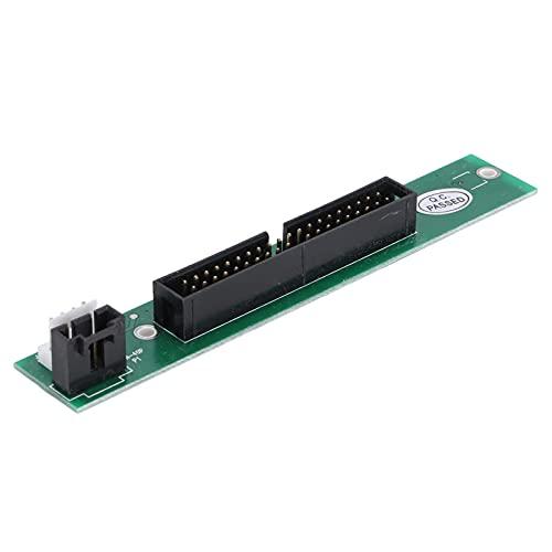 CCYLEZ Tarjeta adaptadora IDE para Unidad de computadora portátil, diseño de Micro Placa, Estabilidad de Rendimiento Robusta, convertidor de Unidad de computadora Macho de 50 Pines a 40 Pines