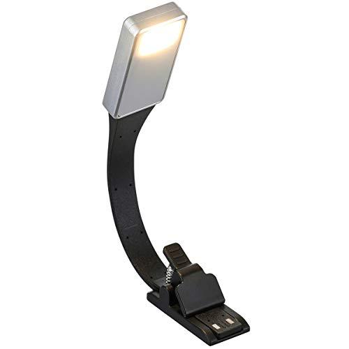 Mogzank E-Book Recargable Luz LED para Papel Nueva LáMpara de Lectura USB Clip de LáMpara de Luz de Libro para el Dormitorio de Viaje Lector 3Model