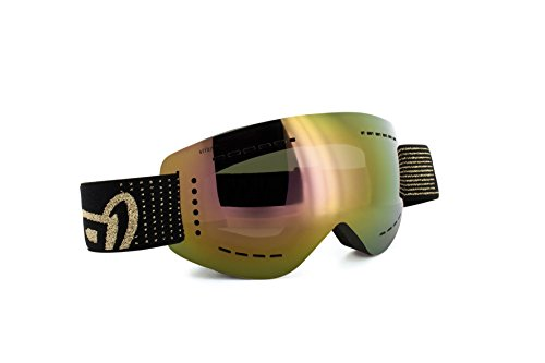 gloryfy GP3 unbreakable Goggles (GP3 transformer polarisiert, gold verspiegelt)