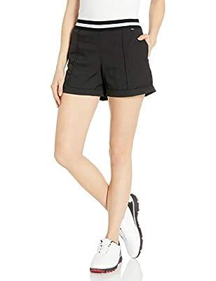 PUMA Golf 2020 Women's Elastic Short, Puma Golf Black, Medium