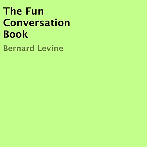 The Fun Conversation Book audiobook cover art