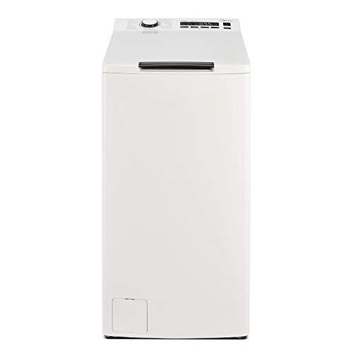 Midea Toplader Waschmaschine TW 7.83i di / 8 KG Fassungsvermögen / Energieeffizienzklasse A+++ / Inverter Motor / Trommelreinigung / Reload - Nachlegefunktion / 1300 U/min / Soft Opener