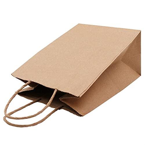 MVAOHGN Bolsa de Papel Kraft para Bodas de Moda de Moda Regalos multifunción (Gift Bag Size : 25x32x11cm, Gift Box Size : 20pcs)
