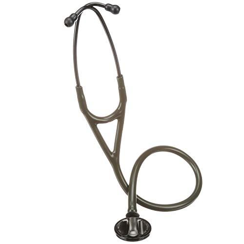3M Littmann Master Cardiology Stethoscope, 27', Dark Olive Green Tube, 2182