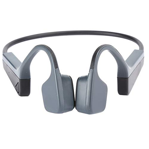 Conducción óseas auricular estéreo inteligente de silicona suave auricular impermeable para la reproducción musical deportiva