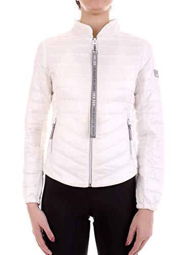 YES-ZEE J430-Q100 Vestes Court Femme Blanc M
