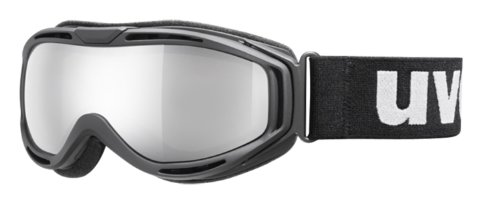 Uvex Hypersonic Brille, black mat, S3