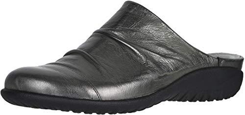 NAOT Footwear Women's Paretao Mule Crinkle Steel Lthr 7 M US