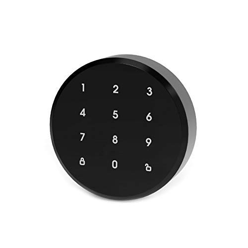 Smart Bluetooth Schloss GIMDOW A3 Smart Türschloss Digital Bluetooth Intelligent Lock Keyless Aufkleber Installation ohne Demontage unterstützt Android IOS (Outdoor)