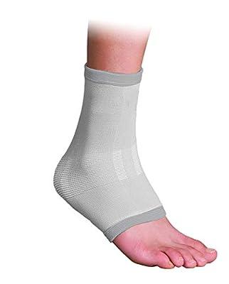 Orthomen Ankle Brace Compression Support Sleeve, Ankle Compression Socks for Plantar Fasciitis(M)
