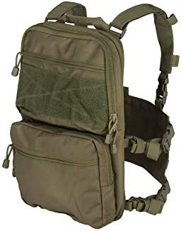 Lancer Tactical 1000D Nylon QD Chest Rig and Backpack Combo OD Green product image