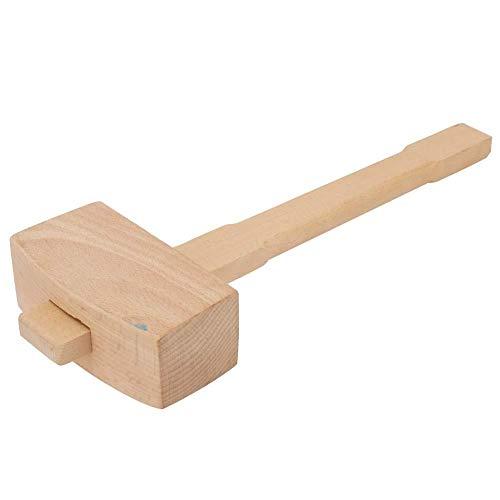 Martillo de madera en forma de T Carpintero profesional Herramienta de carpintería para madera(L)