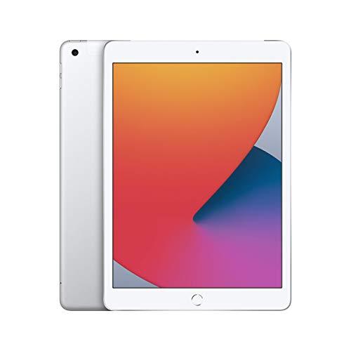 Apple iPad (10,2 Pulgadas, Wi-Fi + Cellular, 32 GB) - Plata (8.a generación) (Reacondicionado)