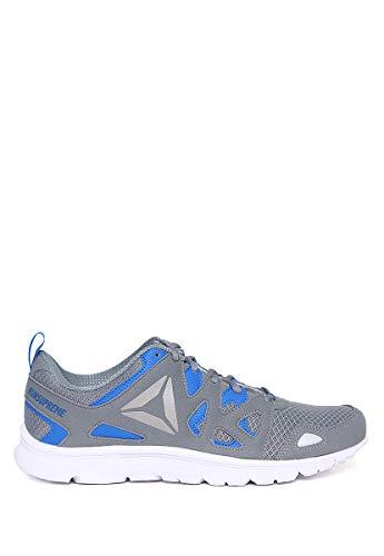 Reebok Run Supreme 3.0, Zapatillas de Running Hombre, Gris (Meteor Grey/Vital Blue/Asteroid Dust/Wht/pwtr), 45.5 EU