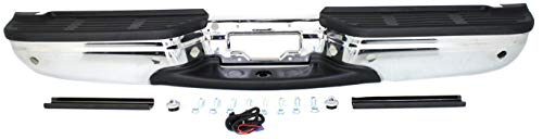 Evan-Fischer Step Bumper Assembly Compatible with 2001-2007 Ford F250 Super...
