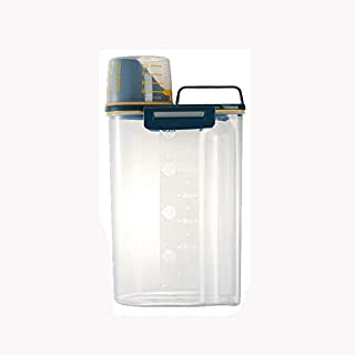 WZHZJ Accueil Stockage des Aliments Seau de Riz Cuisine Grains en Plastique boîte de Rangement Anti-Insectes scellé Organi...