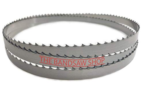 Hojas de sierra de cinta bimetálicas de 2750 mm x 1 pulgada (6 TPI)