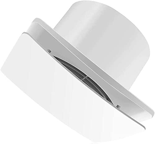 WXking Ventilador del extractor del soplador de escape 6 pulgadas de pared de pared ventilador ventilador silencioso extractor extractor fuerte flujo de aire silencioso ventilación para ventilación de