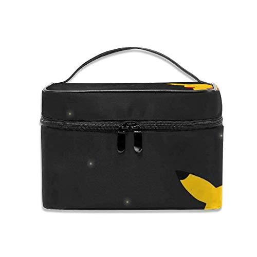 Kosmetiktasche Pikachu Mit EIS Tragbare Reise Make-Up Tasche Cosmetics Organizer Multifunktions Kulturbeutel Aufbewahrungskoffer