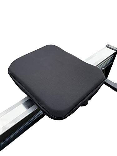 Spynn and Rowe Rowing Machine Cushion with Straps  Seat Pad Designed for Concept 2 Rowing Machine