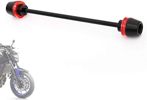 KETABAO RED CNC Front Wheel Axle Sliders Fork Slider For Yamaha MT 07 FZ 07 13 19 15 16 17 18 product image