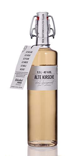 BIRKENHOF Brennerei | Alte Kirsche - feine holzfassgereifte Spirituose | (1 x 0,5l ) - 40 % vol.