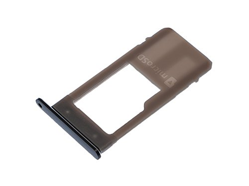 3G-Power Micro SD geheugen kaarten kaart slee slee houder tray slot lade houder vak reserveonderdeel voor Samsung Galaxy A5 (2017) SM-A520F zwart