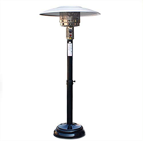 XLBHSH Outdoor Patio Heater, Patio Heater Umbrella-Shaped Natural Gas Heating Stove with Moving Wheels for Outdoor Lifting Adjustment Household Heating Stove Heating Stove