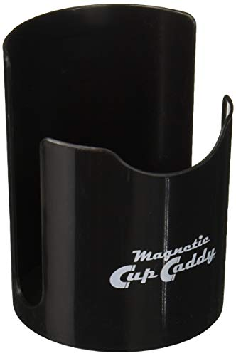 Master Magnetics 7583 Magnetic Cup Caddy Holder - Black - Keep Your Favorite Beverage at Hand