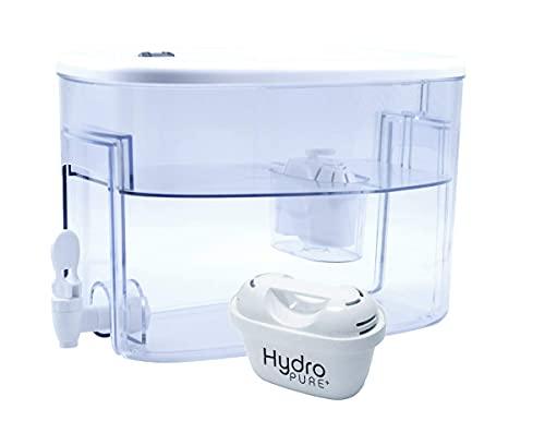 Boston Tech Fresia, dispensador de Agua Filtrada Compatible con filtros Brita Maxtra. Filtro de agua que reduce la cal y el cloro, Agua filtrada para un sabor óptimo, Un Filtro de Regalo. Capacidad 9L