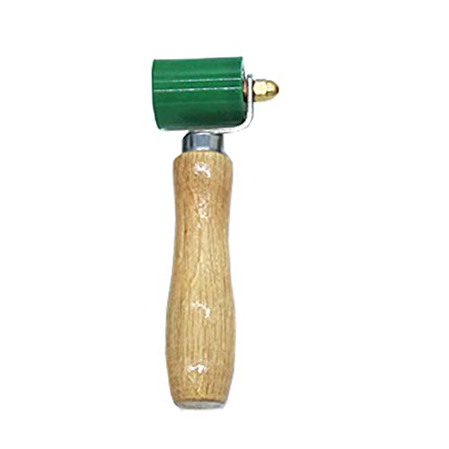 40mm Silikon Andrückrolle Andrückwalze Hochtemperaturbeständiges Handdruck Roller Handdruckrollen,Rollen Naht Handdruck Rolle für Überdachung Heißluft Heizung PVC Schweißen Werkzeug