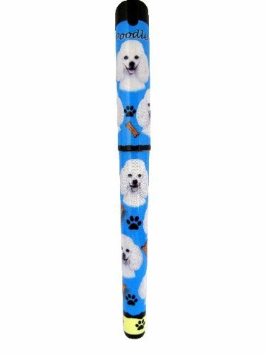 Poodle Pen Easy Glide Gel Pen, Refillable With A Perfect Grip, Great For Everyday Use, Perfect Poodle Gifts For Any Occasion by E&S Imports, Inc
